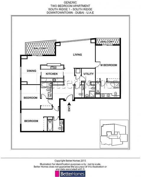 15 Burj & Fountain | High Floor | Maids Room