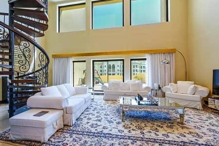 بنتهاوس 5 غرفة نوم للبيع في نخلة جميرا، دبي - Roof Terrace | Duplex | Includes Furniture