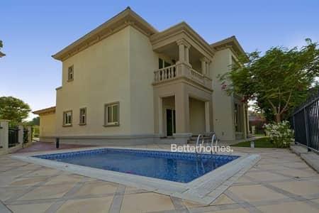 فیلا 4 غرفة نوم للبيع في جزر جميرا، دبي - Spanish Style |  Pool | Jumeirah Islands