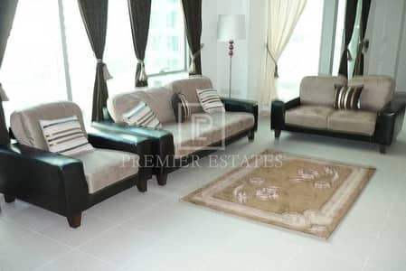 2BR with great views of Marina/Sea/Pool and JBR