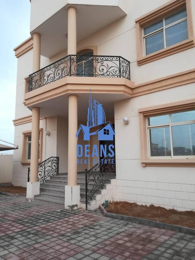 independent 6 master bedrooms villa in MBZ city