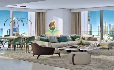 3 Bedroom Apartment for Sale in Downtown Dubai, Dubai - 40/60 Payment Terms Brand New Apartment | Downtown