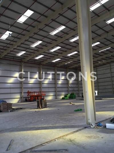 Warehouse available FOR SALE located in JAFZA South