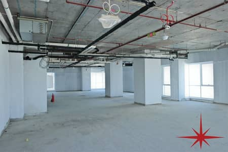 Office for Rent in Sheikh Zayed Road, Dubai - Half Floor Office| Latifa Tower |Best Location