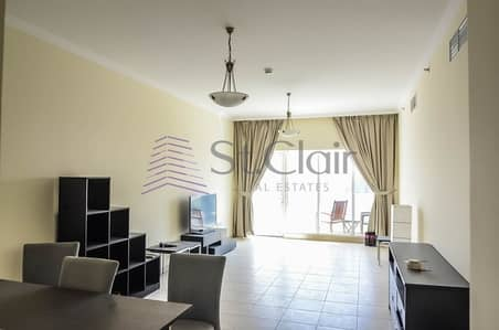 1 Bedroom Apartment for Sale in Downtown Dubai, Dubai - Rented 1 Bed with Balcony | Community View