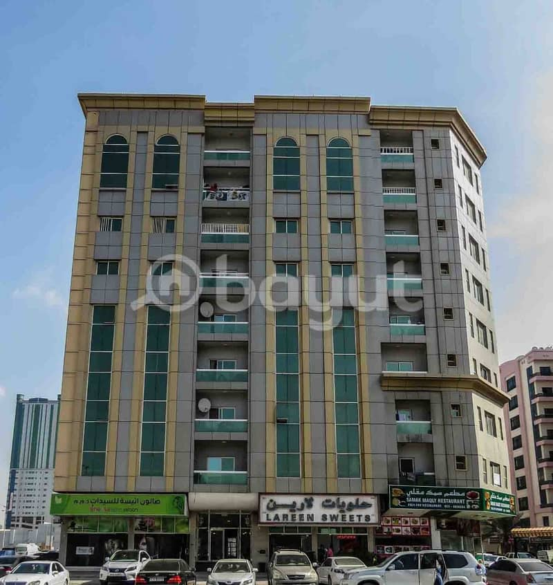 AFFORDABLE LOW PRICE!!! 3-Bedroom Apartment for Rent in Abu Jemeza 3, King Faisal Street, Ajman