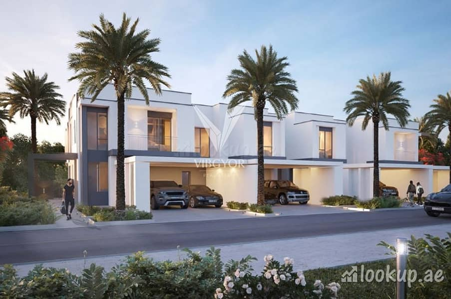 Middle Unit 3 Bed+Maid Maple at Dubai Hills Estate  2