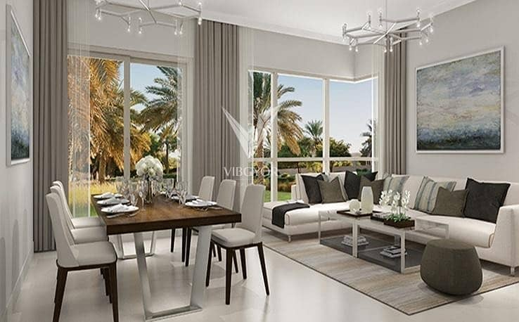 2 Middle Unit 3 Bed+Maid Maple at Dubai Hills Estate  2