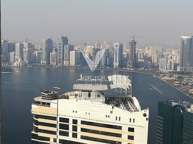 Amazing View 3 Bed Apt in Palm Tower 3 - Al Majaz