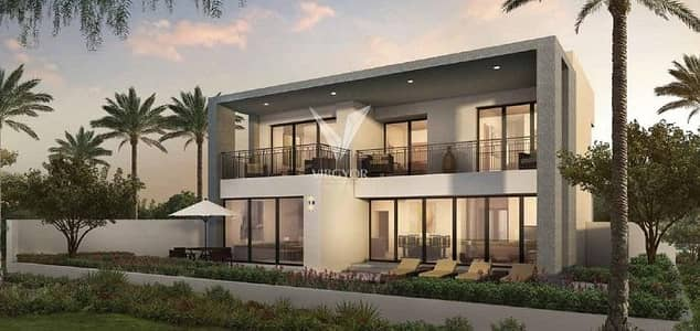 5 Bedroom Villa for Sale in Dubai Hills Estate, Dubai - Selling  at Original Price! 5 Bed+Maid Villa in Sidra 1 - Dubai Hills Estate