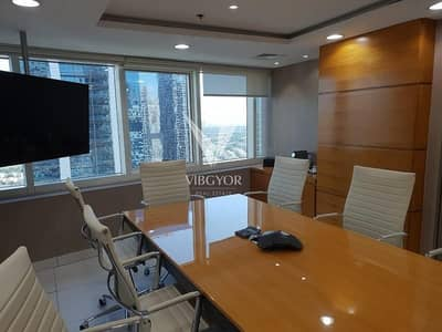 Office for Rent in Jumeirah Lake Towers (JLT), Dubai - Fully Fitted Office - One Lake Plaza (Cluster T)