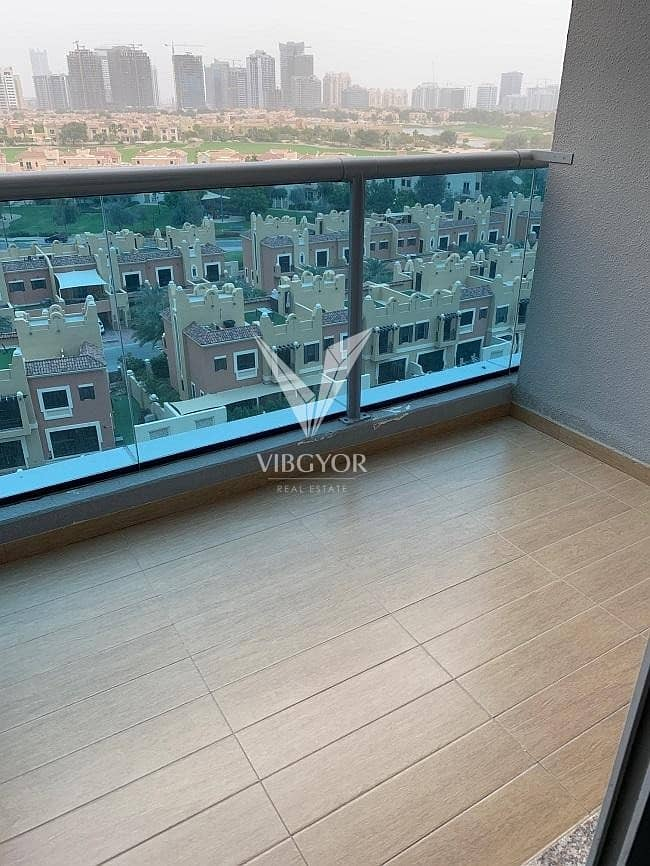 10 Vacant 1 Bed Apt with Golf Course View in Elite 7 - Sports City