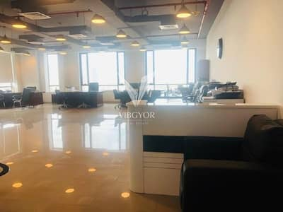 Office for Rent in Jumeirah Village Circle (JVC), Dubai - Fully Fitted Office Prime Business Center - JVC