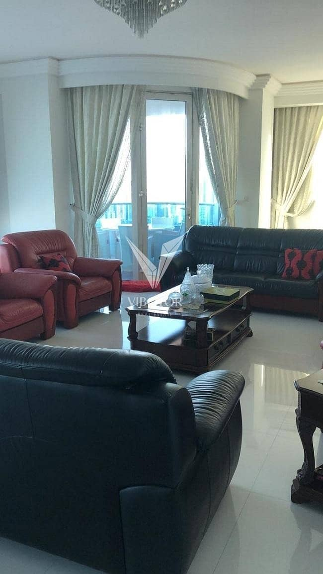 12 Panoramic View 4 Bed Apt - Higher Floor in The Blue Tower - Sharjah