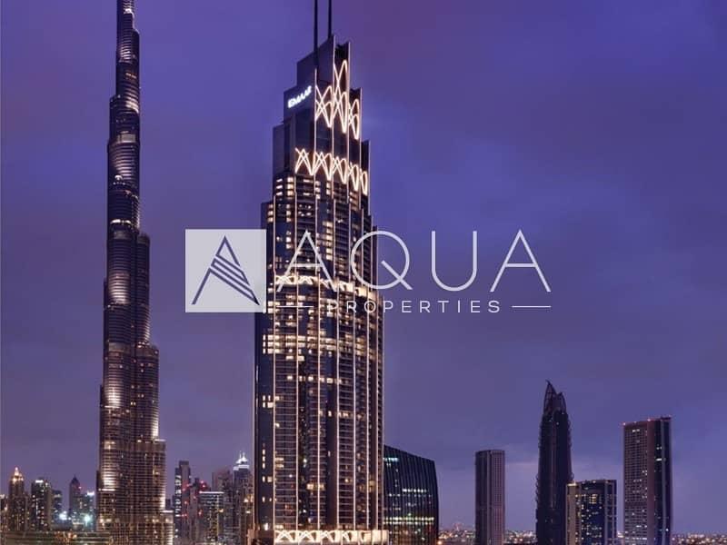 10 1Bed w Burj Khalifa Views | Address BLVD
