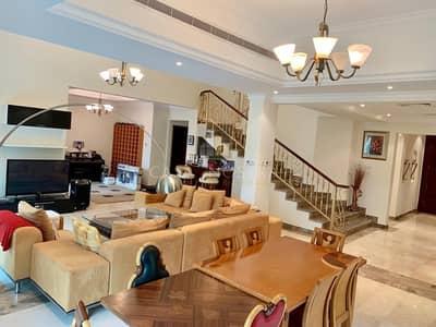 فیلا 4 غرفة نوم للايجار في جزر جميرا، دبي - European Entertainment Foyer 4BR Villa Lake View