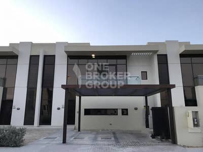 3 Bedroom Townhouse for Rent in DAMAC Hills (Akoya by DAMAC), Dubai - 3Br + maids / Brand New Unit/ Single Row