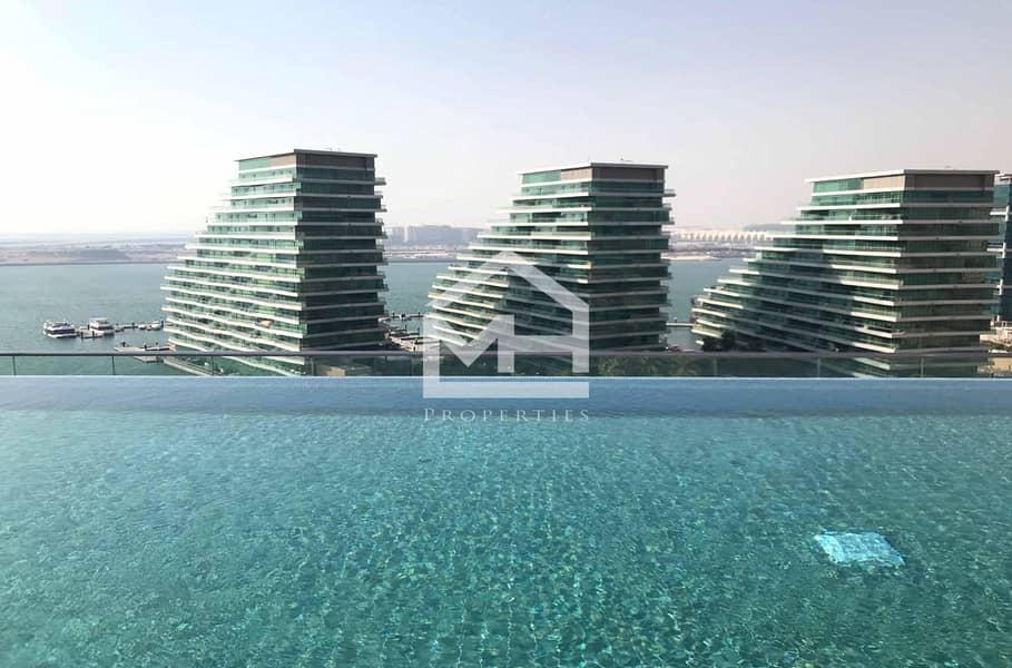 Partial sea view Studio in Al Hadeel