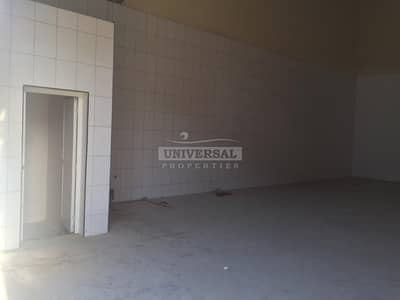 Warehouse for Rent in Al Jurf, Ajman - 1500 Sqft Warehouse With 3 Phase Electricity Available For Rent in Ajman Al Jurf Area