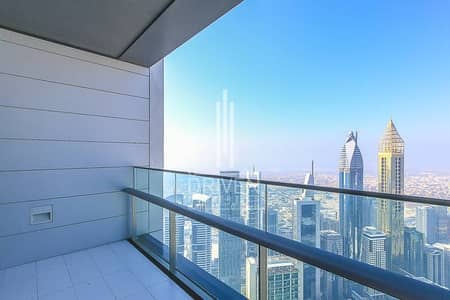 Rare Corner Unit with Burj and Sea View.