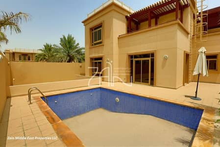 5 Bedroom Villa for Sale in Al Raha Golf Gardens, Abu Dhabi - Great Deal Huge 5+M with Pool and Garden