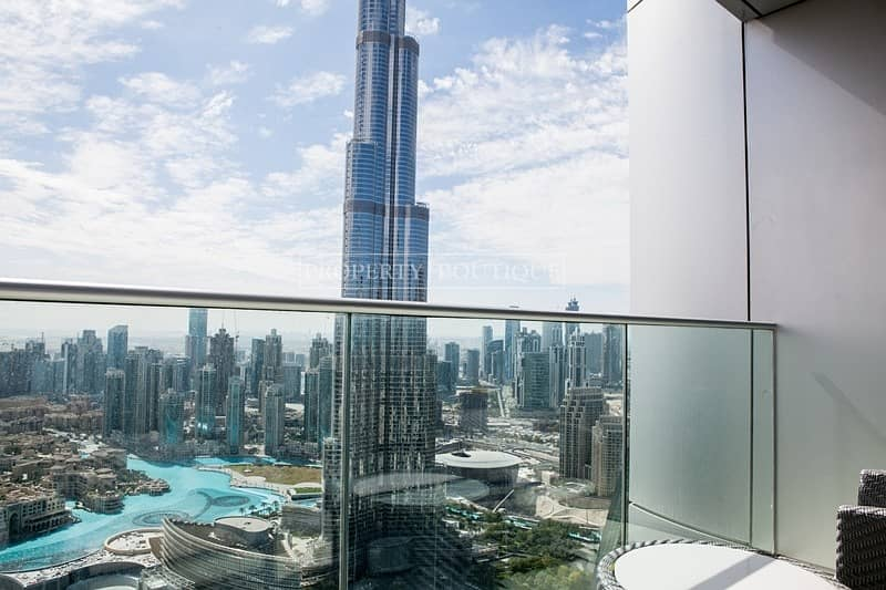 Burj and Fountain View   Vacant 2 Bed   Address Blvd