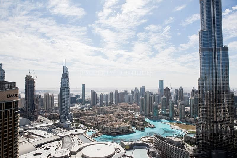 2 Burj and Fountain View   Vacant 2 Bed   Address Blvd