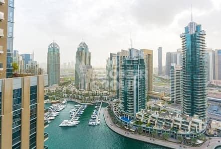 2 Bedroom Apartment for Sale in Dubai Marina, Dubai - Biggest 2 BR on High