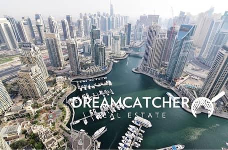 شقة 4 غرفة نوم للبيع في دبي مارينا، دبي - Spacious brand new penthhouse in  marina