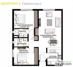 2 Bedroom Apartment Type A