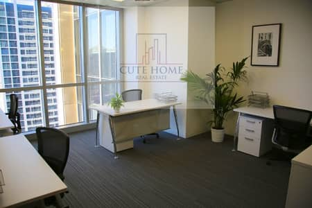Office for Rent in Sheikh Zayed Road, Dubai - Smart Offices In SZR, Free Services, Furnished, Use Your Sponsor, No Hidden Charges!!
