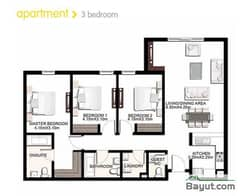 3 Bedroom Apartment Type A