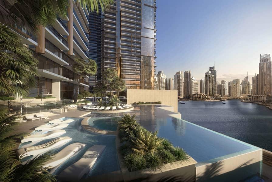 شقة في جميرا ليفينج بوابة المارينا بوابة المارينا دبي مارينا 1 غرف 1644000 درهم - 3901301