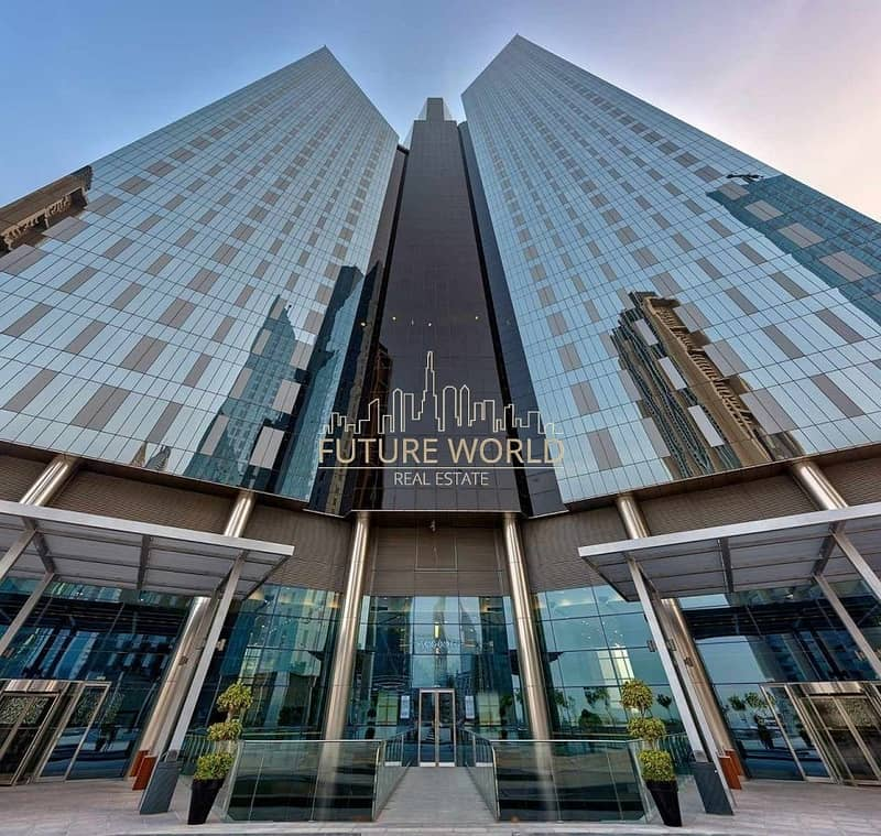 20 BRIGHT 2BR Duplex in Central Park | DIFC