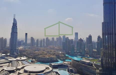 2 Bedroom Apartment for Sale in Downtown Dubai, Dubai - Full Burj View  | Higher Floor  | Rented