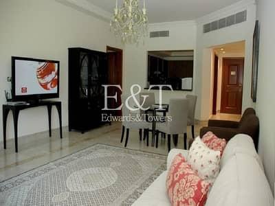 شقة 2 غرفة نوم للبيع في نخلة جميرا، دبي - 2 BR Fully Furnished w/ Direct Access to the Pool