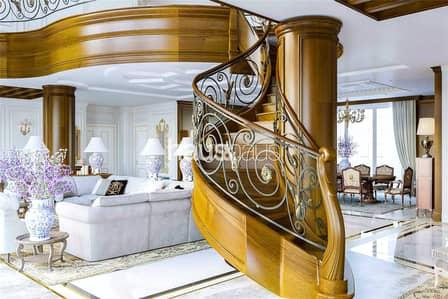بنتهاوس 7 غرفة نوم للبيع في نخلة جميرا، دبي - Three full floor   14