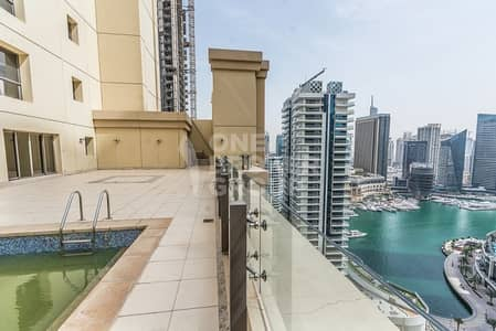 4 Bedroom Flat for Sale in Jumeirah Beach Residence (JBR), Dubai - Largest 4BD I Private Pool I With 2 Terrace
