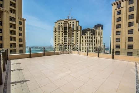 فلیٹ 4 غرفة نوم للبيع في مساكن شاطئ جميرا (JBR)، دبي - Largest 4BD I Private Pool I With 2 Terrace