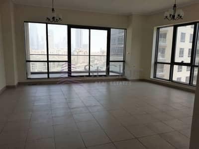 2 Bedroom Flat for Rent in Downtown Dubai, Dubai - Big Living Room Bright 2 Beds + Storage| Mid Floor