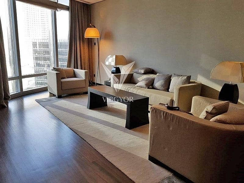 2 Vacant 1 Bed Serviced Apt in Armani Residences - Downtown