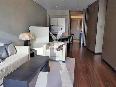 1 Bedroom Apartment for Rent in Downtown Dubai, Dubai - Vacant 1 Bed Serviced Apt in Armani Residences - Downtown