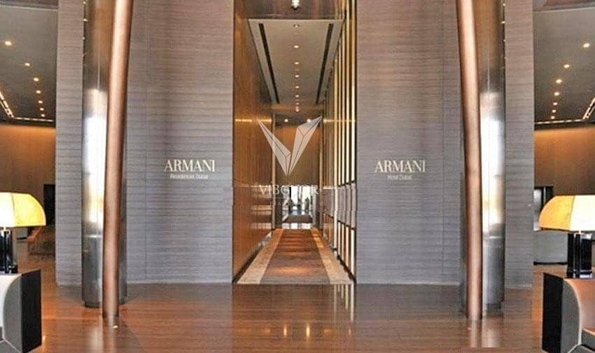10 Vacant 1 Bed Serviced Apt in Armani Residences - Downtown