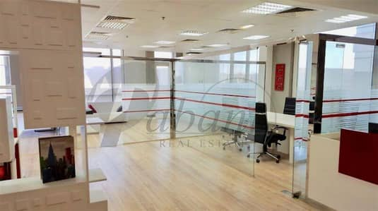 Office for Sale in Jumeirah Village Circle (JVC), Dubai - Fitted and Furnished Off for Sale in JVC.