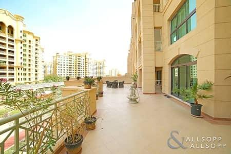 شقة 3 غرفة نوم للبيع في نخلة جميرا، دبي - New to Market | 3 Beds | Extended Balcony
