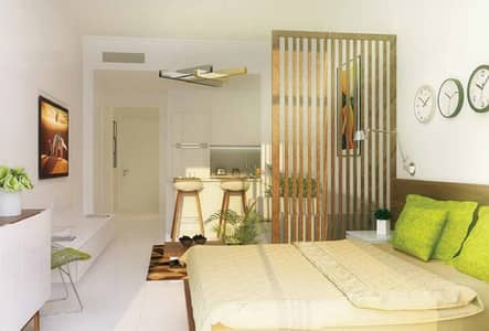 Studio for Sale in Jumeirah Village Triangle (JVT), Dubai - Pay 20% Now and Move Studio with Balcony in JVT