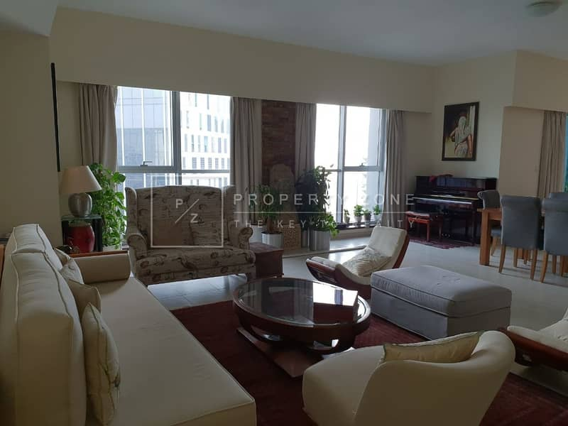 2 Upgraded Large 4 BHK+ Study+ Maids in Tower L