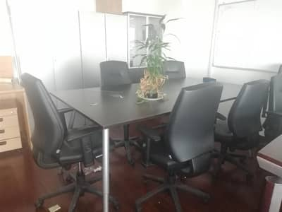 Office for Rent in Jumeirah Lake Towers (JLT), Dubai - Furnished office for Rent on the Metro [EC]