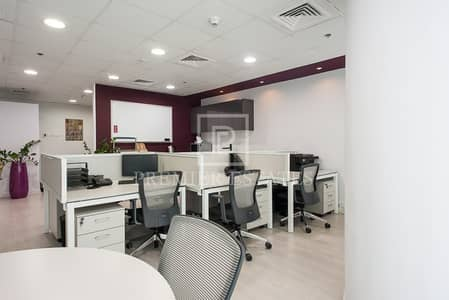 Office for Rent in Barsha Heights (Tecom), Dubai - Fully Fitted and Furnished Office|3 Car Parks