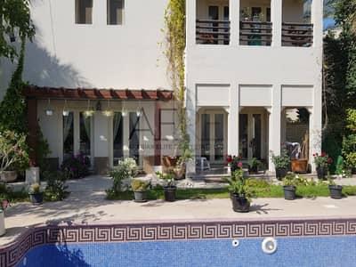 4 Bedroom Villa for Rent in The Meadows, Dubai - Fully-renovated Hattan Type 2 Villa Facing Lake